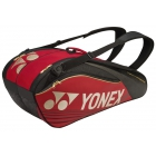 Yonex Pro Series 6-Pack Racquet Bag (Red) - New Yonex Racquets, Bags, Shoes