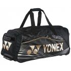 Yonex Pro Trolley Bag (Black/Gold) - New Yonex Racquets, Bags, Shoes