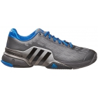 Adidas Men's Barricade 2016 Tennis Shoes (Iron Met/Black/Shock Blue) - Adidas Barricade Tennis Shoes