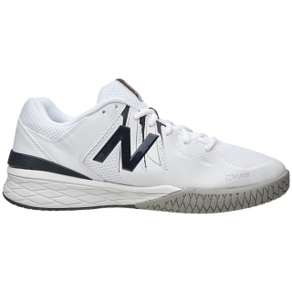 New Balance Men's MC1006 (4E) Tennis Shoes (White/Black)
