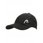 Head Pro Player Hat (Black) - HEAD Tennis Apparel