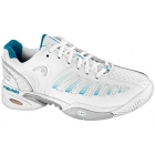 Head Women's Prestige Pro Shoes (Wht/ Blu) - Head Prestige Pro Tennis Shoes