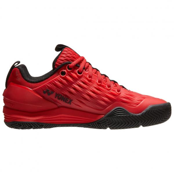 STE3R.Yonex Men's Power Cushion Eclipsion 3 Tennis Shoes - Red