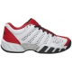 K-Swiss Junior Bigshot Light 2.5 Tennis Shoes (White/Red/Black) - K-Swiss