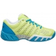 K-Swiss Junior Bigshot Light 2.5 Tennis Shoes (Sunny Lime/Vivid Blue) - K-Swiss