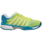 K-Swiss Women's Hypercourt Express Tennis Shoes (Sunny Lime/Vivid Blue/White) - K-Swiss