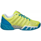 K-Swiss Women's Bigshot Light 2.5 Tennis Shoes (Sunny Lime/Vivid Blue) - K-Swiss