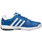 Adidas Junior Barricade Club Tennis Shoe (Blue/White/Black) - Tennis Shoes
