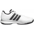 Adidas Men's Energy Boost Tennis Shoe (White/Black/Silver) - Men's Tennis Shoes