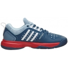 Adidas Women's Barricade Classic Bounce W Tennis Shoe (Gray/White/Red) - New Tennis Shoes