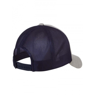 Head Trucker Hat (Grey/Navy)