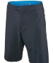 Adidas Men's Barricade Bermuda Short (Dark Grey/ Blue) - Men's Shorts Tennis Apparel