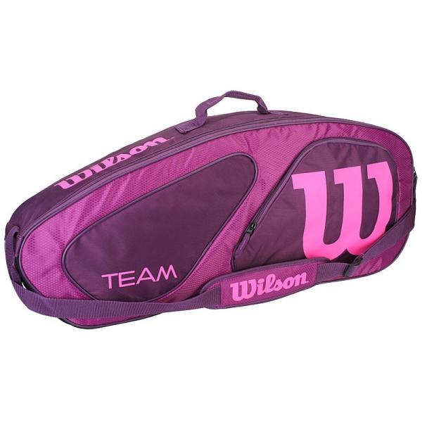 Wilson Team II Purple 3 Pack Tennis Bag (Purple/Pink) - Do ...