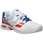 Babolat Men's Propulse All Court Stars & Stripes Tennis Shoes, Red/White/Blue - New Tennis Shoes