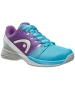 Head Women's Nitro Pro Tennis Shoes (Aqua/Violet) - New Head Racquets, Bags, and Hats