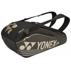 Yonex Pro Series 6-Pack Racquet Bag (Black) - New Yonex Racquets, Bags, Shoes