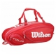 Wilson Tour V 9 Pack Tennis Bag (Red) - Tour Series
