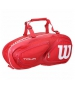 Wilson Tour V 6 Pack Tennis Bag (Red) - Wilson Tennis Bags