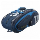 Wilson Tour V 15 Pack Tennis Bag (Blue) - 7 Racquet Tennis Bags