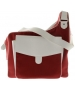 CortigliaSport Ruby Red Messenger Tennis Bag - Cortiglia