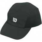 Wilson Rush Stretch Woven Cap (Black) - Wilson Headbands & Writsbands Tennis Apparel