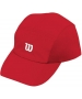 Wilson Rush Stretch Woven Cap (Red) - Tennis Hats