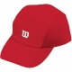 Wilson Rush Stretch Woven Cap (Red) - Wilson Hats, Caps, and Visors