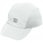 Wilson Rush Stretch Woven Cap (White) - Wilson Hats, Caps, and Visors Tennis Apparel