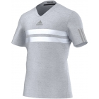 Adidas Men's Barricade ClimaCool Chill Tee (Grey) - Men's Tops T-Shirts & Crew Necks Tennis Apparel