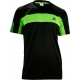 Adidas Mens Galaxy Polo (Black/ Green) - Adidas Men's Apparel Tennis Apparel