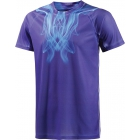 Adidas Mens Adizero Tee (Night Flash/Solar Blue) - Men's Tops T-Shirts & Crew Necks Tennis Apparel