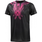 Adidas Mens Adizero Tee (Black/Solar Pink) - Men's Tops T-Shirts & Crew Necks Tennis Apparel