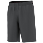 Adidas Men's adiZero Bermuda Short (Solid Grey/Gun Metal) - Men's Shorts Tennis Apparel