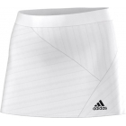 Adidas Sequentials Core Skort (White/Black) - Adidas Women's Apparel Tennis Apparel