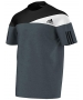 Adidas Men's Response Heathered Crew (Grey/ White) - Men's Tops T-Shirts & Crew Necks Tennis Apparel