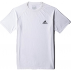Adidas Mens Ultimate Tee (White) - Tennis Apparel