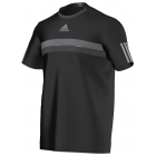 Adidas Men's Barricade Tee (Black/ Grey) - Men's Tops T-Shirts & Crew Necks Tennis Apparel