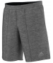 Adidas Men's Barricade Shorts (Dark Heather) - Men's Tennis Apparel