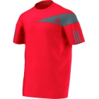 Adidas Men's Response Crew (Red/ Grey) - Adidas Men's Apparel Tennis Apparel