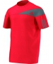 Adidas Men's Response Crew (Red/ Grey) - Men's Tops T-Shirts & Crew Necks Tennis Apparel