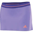 Adidas Women's adiZero Skort (Light Purple/Orange) - Adidas Women's Apparel Tennis Apparel