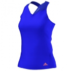 Adidas Women's Response Tank (Blue/ Orange) - Adidas Women's Apparel Tennis Apparel
