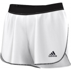 Adidas Sequentials Core Short (White/Black) - Women's Tennis Apparel