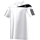 Adidas Boys Response Traditional Polo (White/ Black) - Adidas Tennis Apparel
