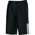 Adidas Boy's Response Bermuda Shorts (Black/ White) - Boy's Tennis Apparel