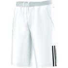 Adidas Boy's Response Bermuda Shorts (White/ Black) - Boy's Bottoms Tennis Apparel