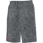 Adidas Boy's Response Trend Bermuda Shorts (Grey/ Black) - Boy's Bottoms Tennis Apparel