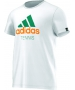Adidas Men's Spring Tennis Tee (White) - Men's Tops T-Shirts & Crew Necks Tennis Apparel