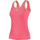 Adidas Women's Galaxy Tank (Flash Red/ Flash Green) - Women's Tops Tennis Apparel