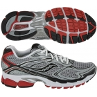 Saucony Men's ProGrid Guide 4 (Sil/ Blk/ Red) - Saucony